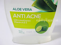 Toner Oval esy review ovale lotion aloe vera anti acne