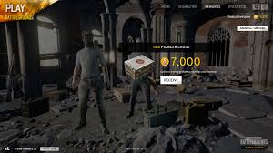 pubg cost pioneer crate reset archive playerunknown s battlegrounds forums
