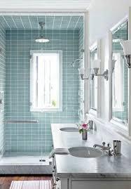 glass tile ideas for small bathrooms 30 unique bathroom ideas to aqua striped bathroom walls