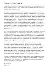 Secretary Resume Good Scholarship Application Essays Esl Cover Letter Writer Sites