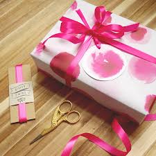 luxury gift wrap luxury gift wrap set in playful pinks by paper pipit