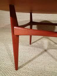 mobilier vintage scandinave table basse vintage scandinave ronde erik ekselius années 60
