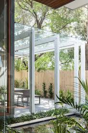outdoor best glass roof ideas room chic sydney house extends its