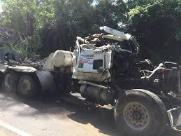 cement truck driver dies in rollover crash