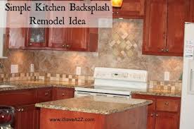 simple kitchen backsplash simple kitchen backsplash remodel idea isavea2z