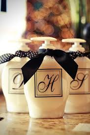 Monogrammed Home Decor 11 Diy Soap Dispensers To Dress Up Your Sink Diy Joy