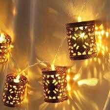 Commercial Patio String Lights by Wireless String Lights Wooden Lantern Bear Deer String Lights 10