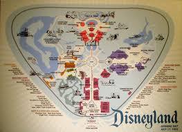 Disney Map Walt Disney The Cavender Diary