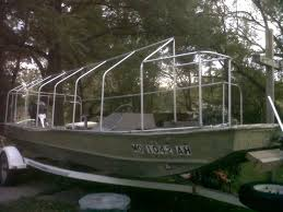 Blinds For Boats Duck Hunting Chat U2022 18 U0027 Jon Boat With Fixed Blind New Pics