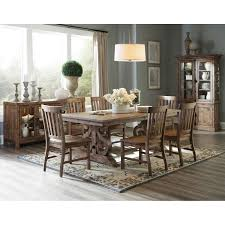 willoughby rectangular dining table in weathered barley magnussen
