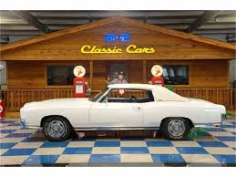 1970 chevrolet monte carlo for sale on classiccars com 13 available