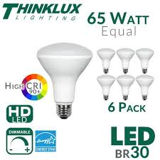 Shatterproof Light Bulbs Thinklux Br30 Led Dimmable Flood Lights Led Bulbs Br30
