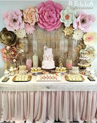 baby shower table decoration easy table decorations dinner party best flower backdrop ideas on