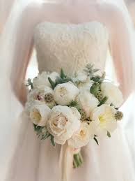 wedding flowers peonies white peony bouquets