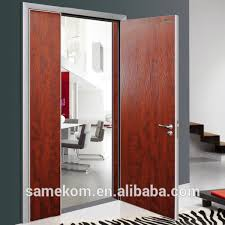 Bedroom Door Designs Veneer Laminated Wood Door Cheap Simple Bedroom Door Design