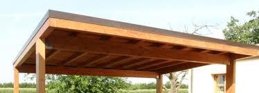 tettoie e pergolati in legno tettoia in legno realizzazione e costi edilnet