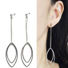 clip on hoop earrings silver hoop invisible clip on earrings from miyabigrace on etsy