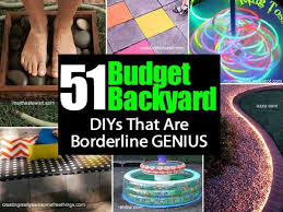 Backyard Ideas For Kids On A Budget 51 Budget Backyard Diy Ideas Perfect For Your Home Find Fun Art