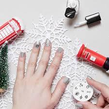 xmas spirit diy nail art set by apharsec notonthehighstreet com