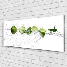 glasbilder küche deko bilder drucke aus glas für die küche ebay