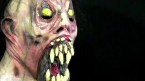 possessed demon latex halloween mask youtube