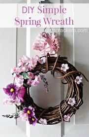 simple spring twig wreath tutorial