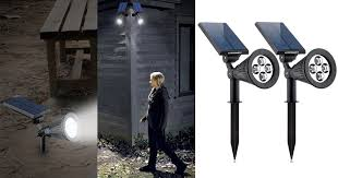 Amazon Solar Lights - amazon two waterproof led solar spotlights only 21 99 regularly