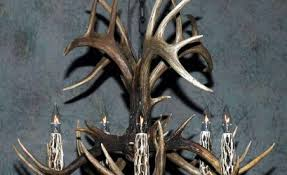 How To Make Deer Antler Chandelier How To Make An Antler Chandelier 3 Outstanding For Image Of Diy