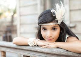 great gatsby hair accessories flapper headband great gatsby headpiece feather headband