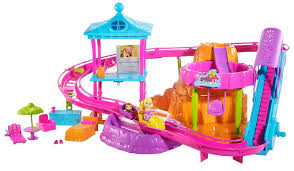 polly pocket roller coaster resort playset toys