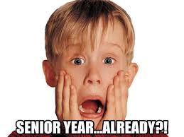 Senior Year Meme - thoughts going into my senior year of college