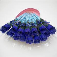 40 creative s day gift 40pcs simulated single soap flower creative soap decorative