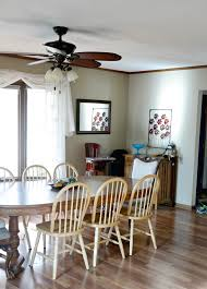 Dining Room With Ceiling Fan room makeover inspiration and two hunter ceiling fan give aways