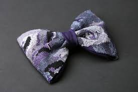 stitched bow tie ornament penelope s bow ties