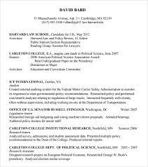 Harvard Resume Template Sle Resume Template 24 Free Sles Exles Format