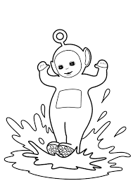 teletubbies coloring clip art library