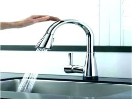 sensate touchless kitchen faucet kitchen faucet touch pizzle me