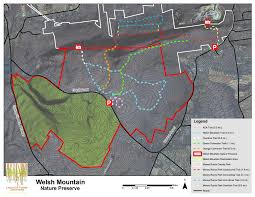 Lancaster Pennsylvania Map by Welsh Mountain Lancaster Conservancy