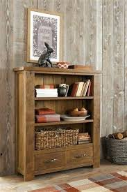 solid pine living room furniture solid pine console bookcase from
