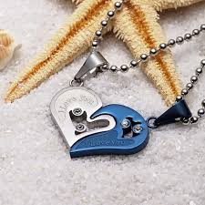 love chain necklace images Stainless steel heart love chain necklace simply trendyy n y jpg
