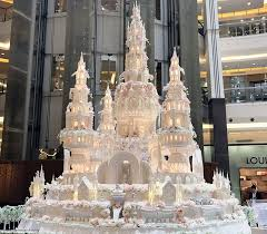 wedding cake castle are these the most elaborate wedding cakes of all time daily