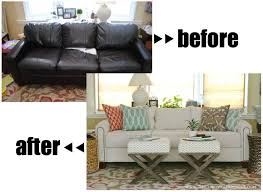 Leather Slipcover Sofa Best 25 Couch Reupholstery Ideas On Pinterest Sofa Reupholstery