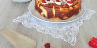 jeux de aux fraises cuisine gateaux gâteau au fromage blanc fraises et framboises facile et pas cher