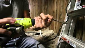ryobi review 5 5 amp 3 8 in variable speed drill youtube