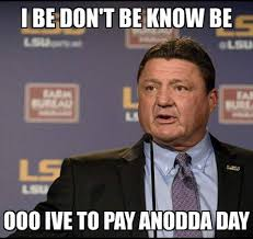 Be Strong Meme - the lsu memes are harsh and funny after losing to troy