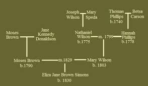 brown wilson phillips families