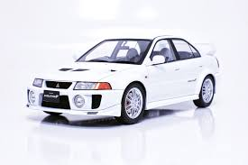 mitsubishi evolution 1 tarmac works 1 18 mitsubishi evolution v gsr white t03 wh