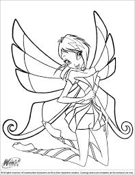 winx club coloring page u2026 pinteres u2026