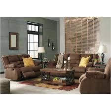 chocolate living room 9860588 ashley furniture tulen chocolate reclining sofa