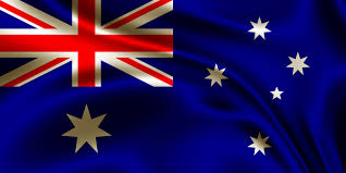 Australia Flags Australian Wavy Flag Public Domain Photos